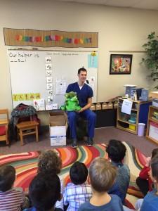 Luke at preschool 2016